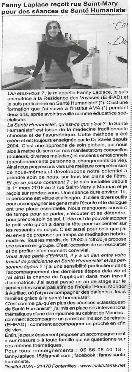 article fanny laplace