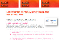 NEWSLETTER Automne/Hiver 2018-2019