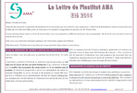 NEWSLETTER Eté 2014