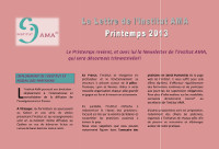 NEWSLETTER PRINTEMPS 2013