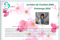 NEWSLETTER Printemps 2016